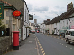 Moretonhampstead in Devon
